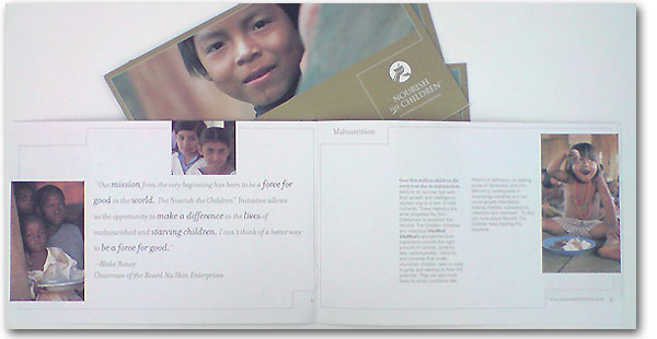 """Nourish the Children"" brochures 2003/2005"