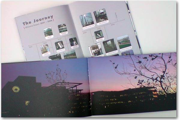 """Shell landscapes"" brochure 2005"