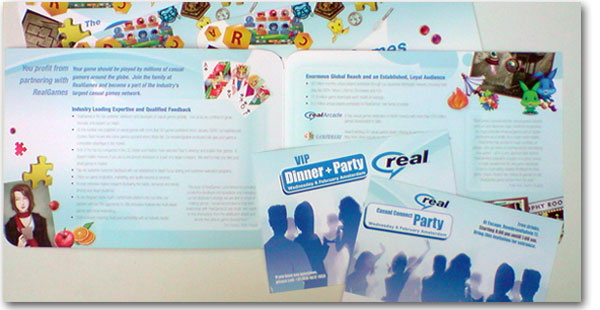 """Casual Connect"" convention materials 2006/2008"